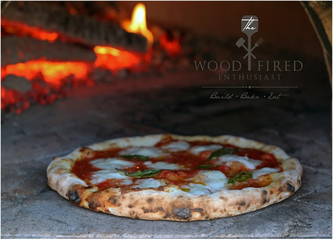 A wood fired pizza from Matt Sevigny of The Wood Fired Enthusiast