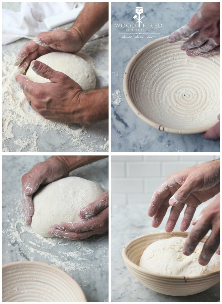A basic bread dough recipe from Matthew Sevigny of The Wood Fired Enthusiast