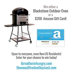 Blackstone Outdoor Oven Giveaway