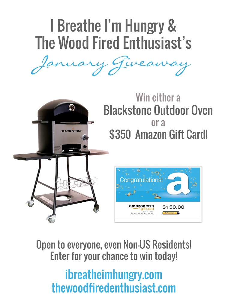 A giveaway from The Wood Fired Enthusiast