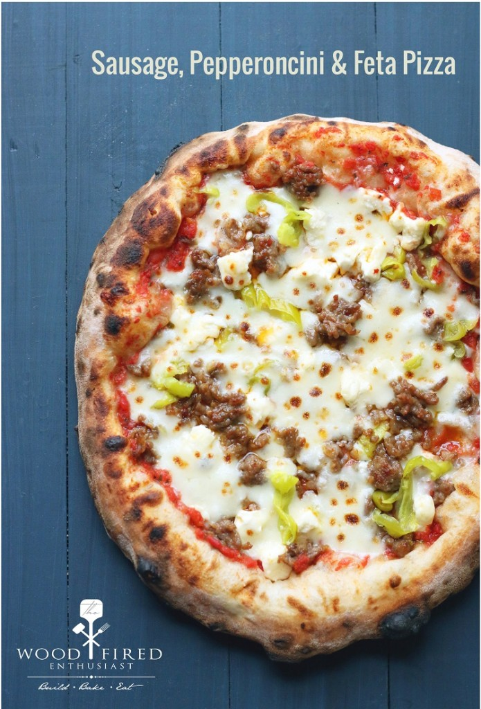 This fantastic pizza engages every single one of your taste buds!  The Wood Fired Enthusiast
