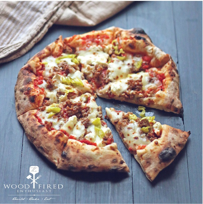 A delicious pizza recipe from The Wood Fired Enthusiast